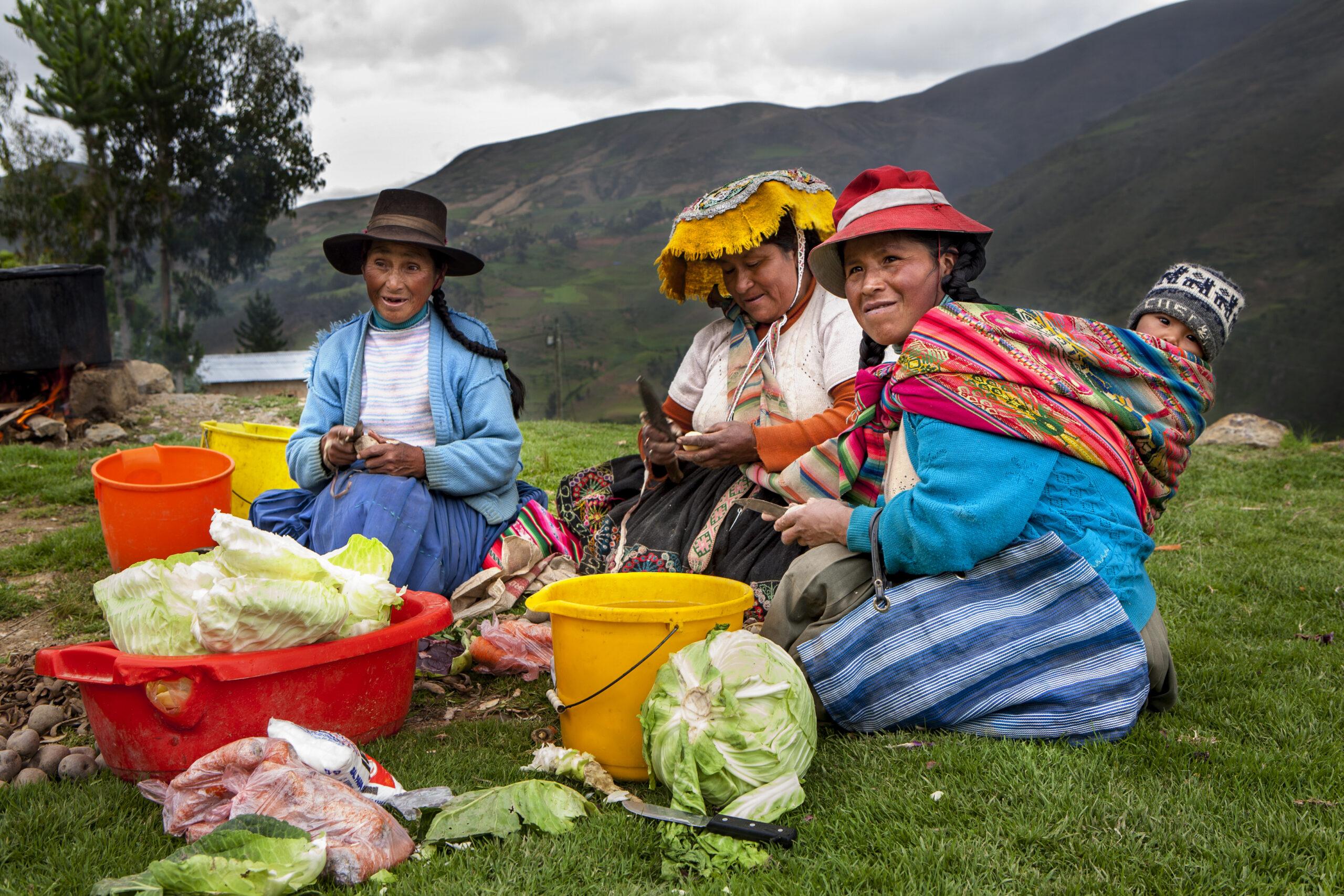 GNO0455_Anbau von Obst und Gemüse_Plan International_Vania Milanovitch_Bild stammt aus einem ähnlichen Plan-Projekt in Peru